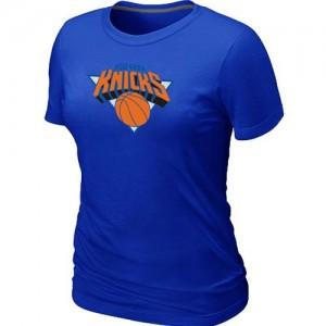 Tee-Shirt NBA New York Knicks Bleu Big & Tall - Femme