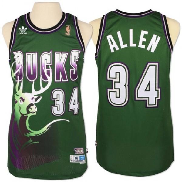 RAAVIN Milwaukee Bucks nouveau tissu brod/é le maillot de basketball # 34 Giannis Antetokounmpo style sportif